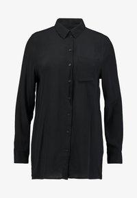 ONLY - ONYNARA - Button-down blouse - black - 3
