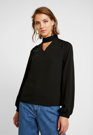 ONLBUBBA HIGHNECK - Blouse - black