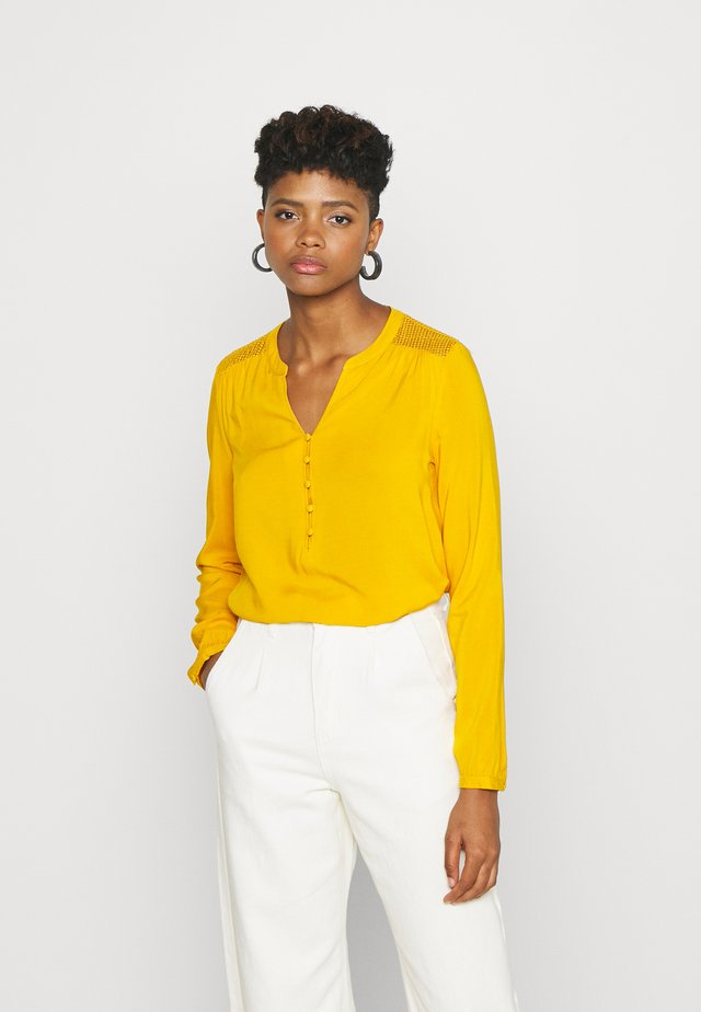 ONLEDDIE DETAIL - Blusa - golden yellow