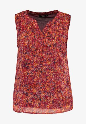 ONLLIA  - Blusa - merlot/flower print