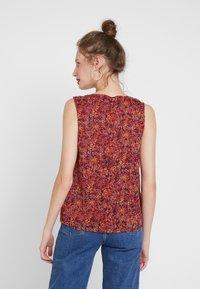 ONLY - ONLLIA  - Bluser - merlot/flower print - 2