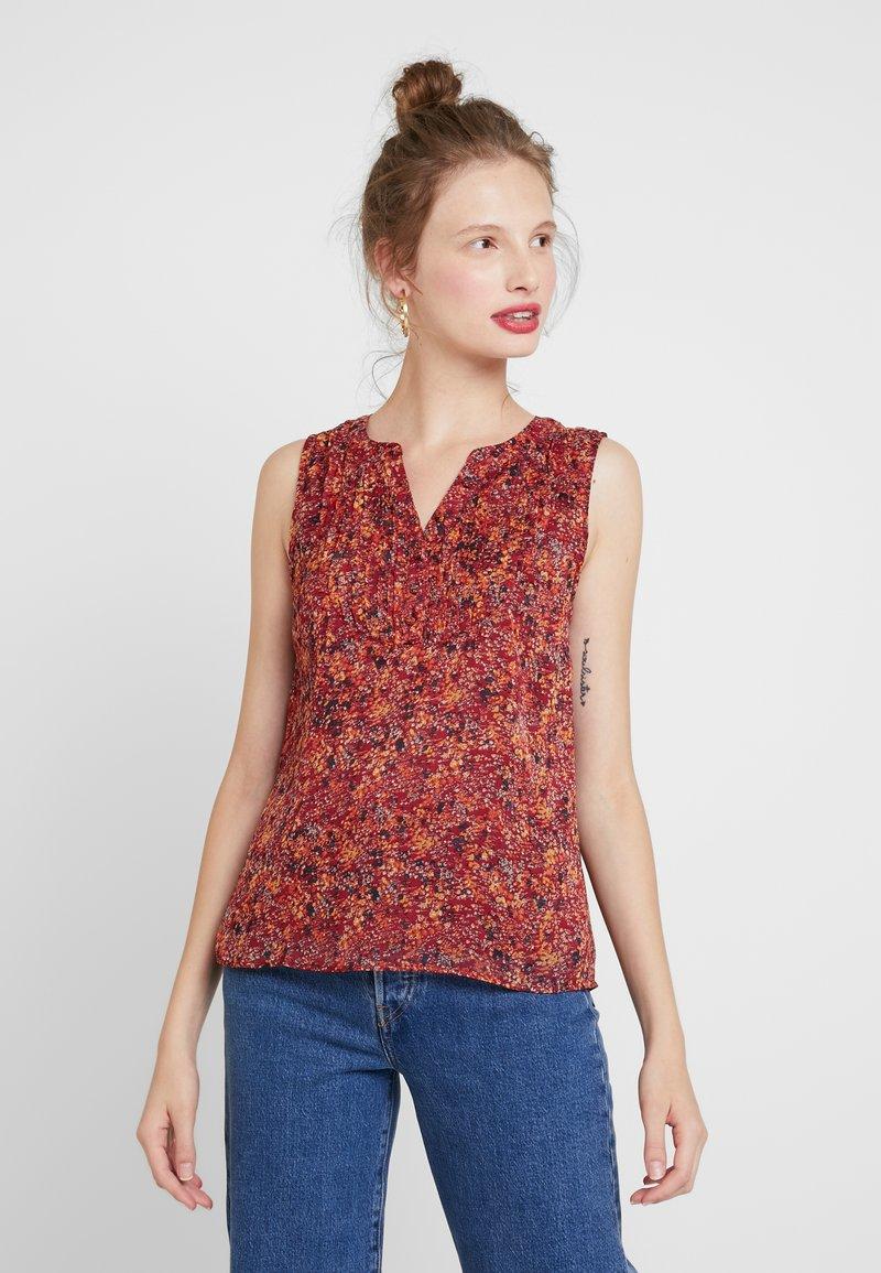 ONLY - ONLLIA  - Bluser - merlot/flower print
