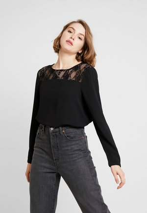 ONL MILA LUX SOLID - Blouse - black