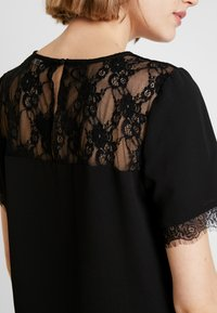 ONLY - ONLMILA LUX SOLID - Blouse - black - 4
