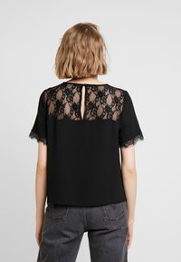 ONLY - ONLMILA LUX SOLID - Blouse - black - 2