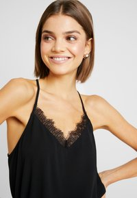 ONLY - ONLMILA LUX SINGLET SOLID - Top - black - 4