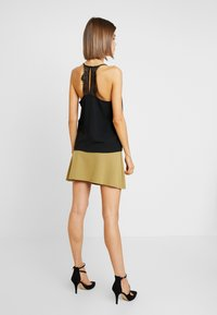 ONLY - ONLMILA LUX SINGLET SOLID - Top - black - 2