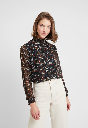 ONLROSE SMOCK HIGHNECK - Blouse - jet set