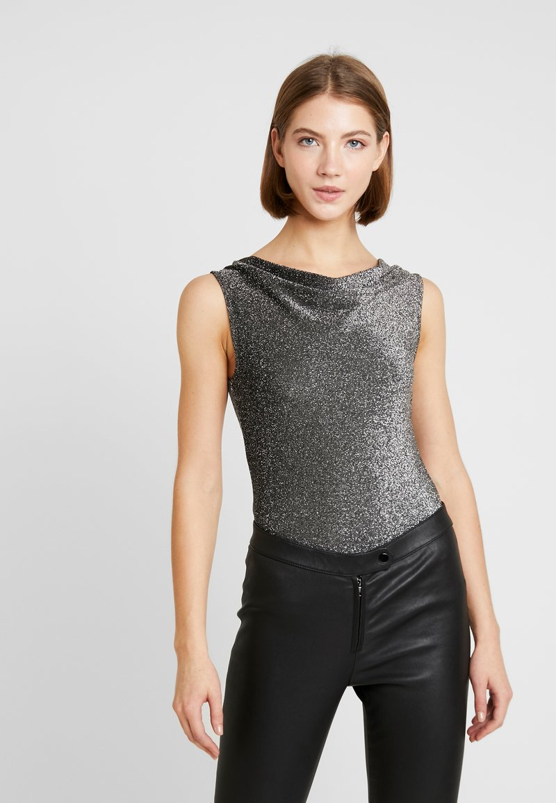 ONLY - ONLJOSEFINA - Bluser - black/silver