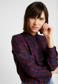 ONLY - ONLMARGIE - Button-down blouse - peacoat - 5