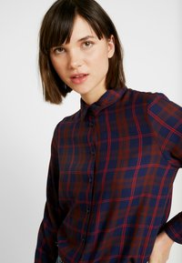 ONLY - ONLMARGIE - Button-down blouse - peacoat - 3