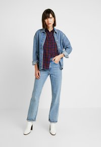 ONLY - ONLMARGIE - Button-down blouse - peacoat - 1