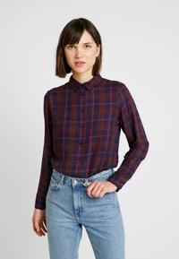 ONLY - ONLMARGIE - Button-down blouse - peacoat - 0