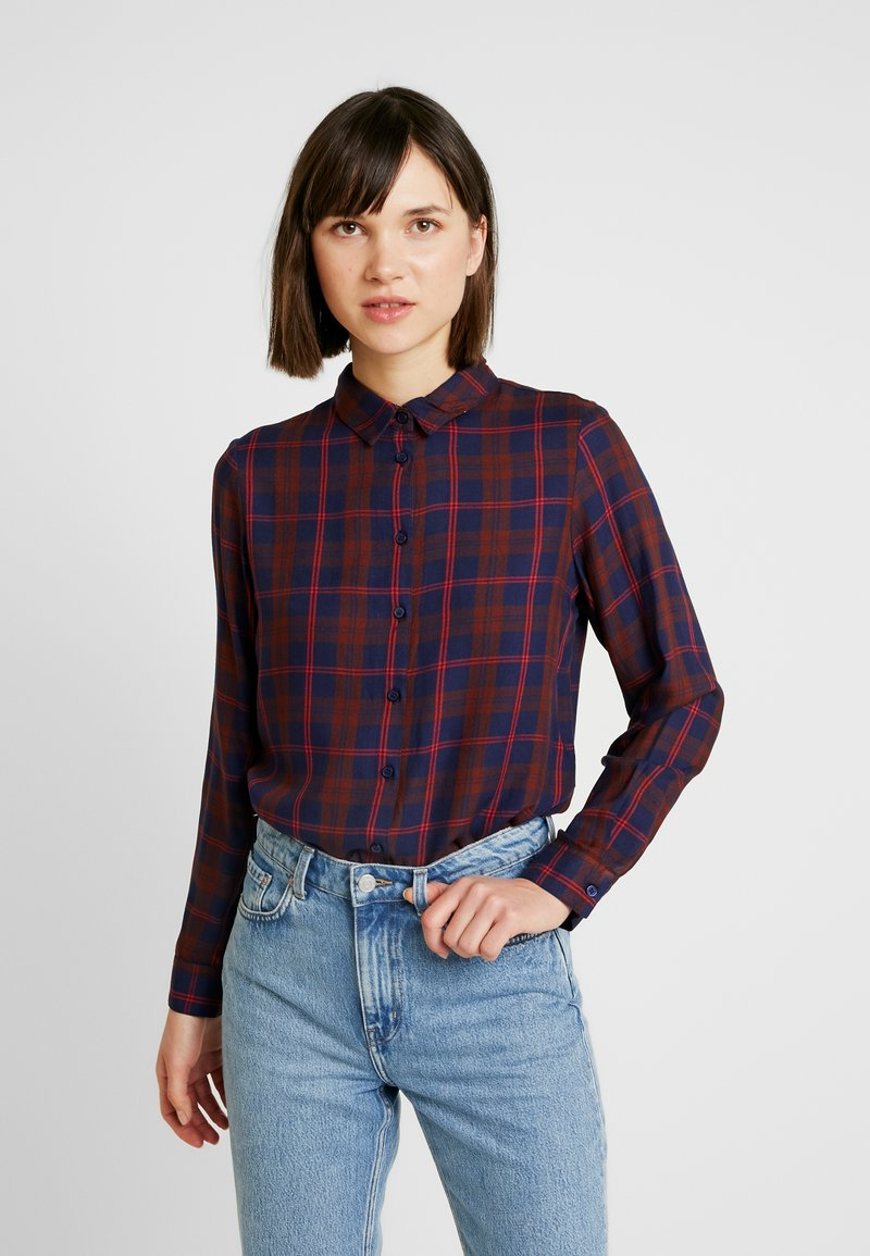 ONLY - ONLMARGIE - Button-down blouse - peacoat