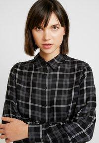 ONLY - ONLMARGIE - Button-down blouse - black - 3