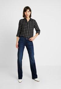 ONLY - ONLMARGIE - Button-down blouse - black - 1