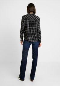 ONLY - ONLMARGIE - Button-down blouse - black - 2