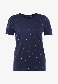 ONLY - ONLWILLY BOX - T-shirt z nadrukiem - night sky/silver stars - 4