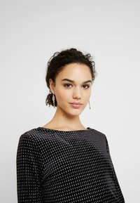 ONLY - ONLLOVABLE GLITTER - Long sleeved top - black - 3