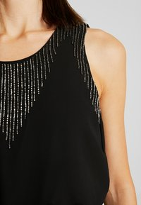 ONLY - ONLKANA BEAD - Bluse - black - 5