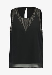 ONLY - ONLKANA BEAD - Bluse - black - 4
