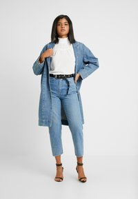 ONLY - ONLRUBIA SMOCK - Blouse - cloud dancer - 1