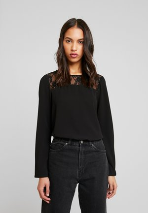 ONLMILA LUX SOLID - Blouse - black