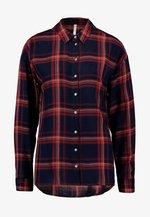 ONLNEW PAMELA  - Button-down blouse - night sky