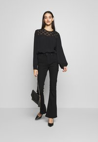 ONLY - ONLMAY DOT BLOUSE - Bluser - black - 1