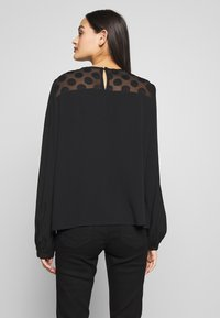 ONLY - ONLMAY DOT BLOUSE - Bluser - black - 2