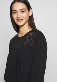ONLY - ONLMAY DOT BLOUSE - Bluser - black - 4