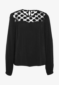 ONLY - ONLMAY DOT BLOUSE - Bluser - black - 3