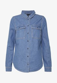 ONLY - ONLSASSY  POCKET - Chemisier - medium blue - 4