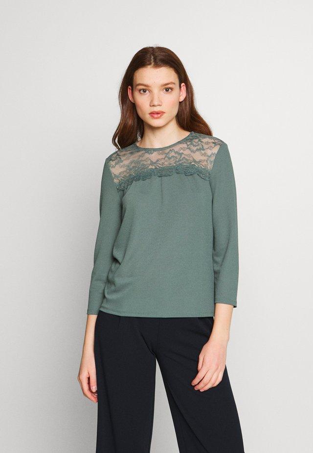 ONLMONNA - Camiseta de manga larga - balsam green