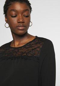 ONLY - ONLMONNA - Long sleeved top - black - 3