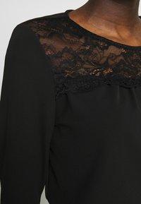 ONLY - ONLMONNA - Long sleeved top - black - 5