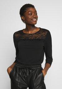 ONLY - ONLMONNA - Long sleeved top - black - 0