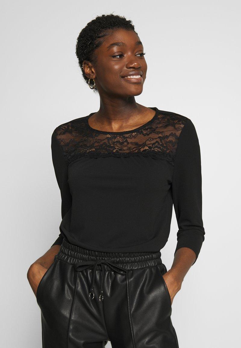 ONLY - ONLMONNA - Long sleeved top - black
