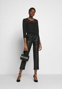 ONLY - ONLMONNA - Long sleeved top - black - 1