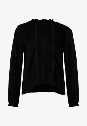 ONLLUNA FRILL - Blouse - black