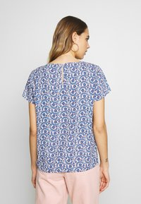 ONLY - ONLALLY FIRST TOP - Blouse - rose smoke/leaf flower - 2