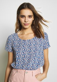 ONLY - ONLALLY FIRST TOP - Blouse - rose smoke/leaf flower - 3