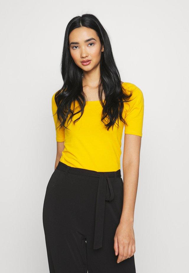 ONLSALLY ORGANIC - Camiseta básica - mango mojito