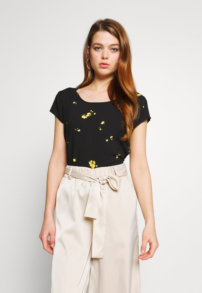 ONLY - ONLALISA LIFE  - Blouse - black/misted yellow