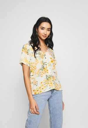 ONLFLORIA VNECK  - Bluser - cloud dancer