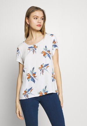 ONLCARRIE TOP - Blouse - cloud dancer/nature mix