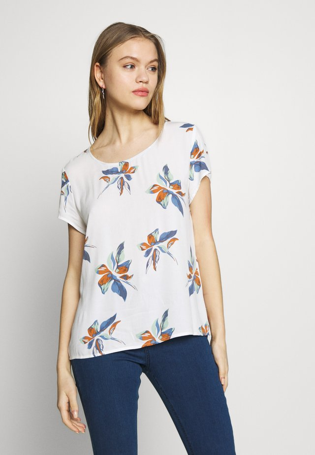 ONLCARRIE TOP - Blusa - cloud dancer/nature mix