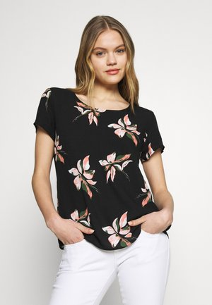 ONLCARRIE TOP - Bluser - black/nature