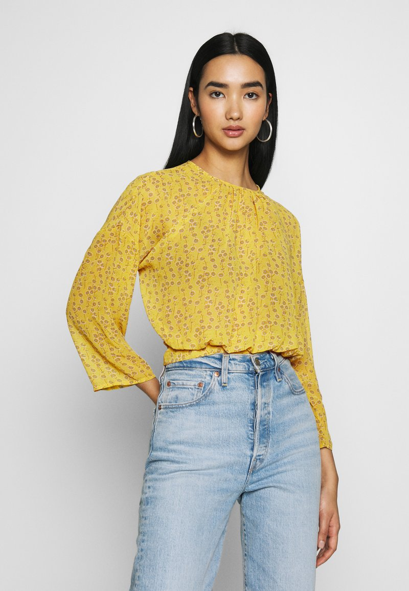 ONLY - ONLSUNNY BLOUSE - Bluser - misted yellow