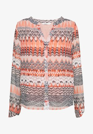 ONLZAFFY - Blouse - cloud dancer/aztec